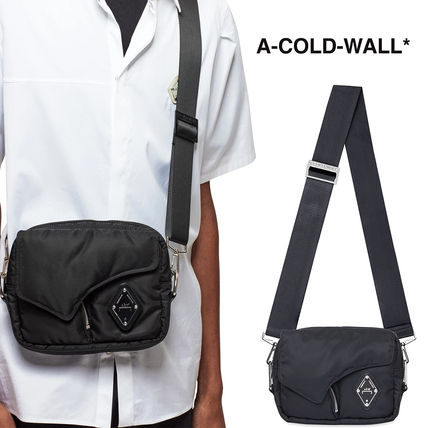 A-COLD-WALL Unisex Nylon Street Style Crossbody Bag Small Shoulder Bag