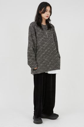Raucohouse Sweaters Long Sleeves Oversized Sweaters 2