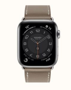 HERMES Casual Style Leather Elegant Style Digital Watches