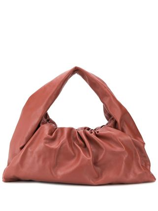 Casual Style Nylon A4 2WAY Plain Leather Party Style