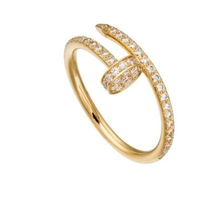 Casual Style Party Style 18K Gold Elegant Style Rings
