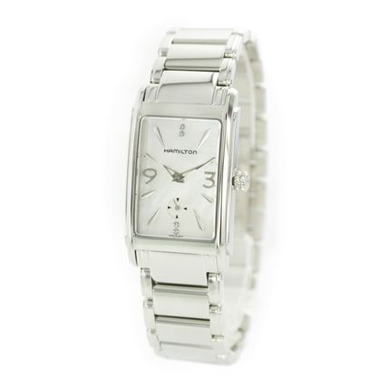 Hamilton Casual Style Square Party Style Quartz Watches Stainless