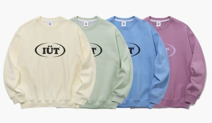 ISTKUNST Sweatshirts Pullovers Unisex Street Style Long Sleeves Cotton Oversized 15