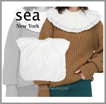 Sea NEW YORK Casual Style Plain Cotton Party Style Office Style