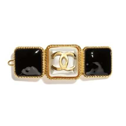 CHANEL Barettes Party Style Office Style Elegant Style
