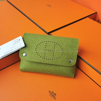 HERMES Wool Logo Accessories