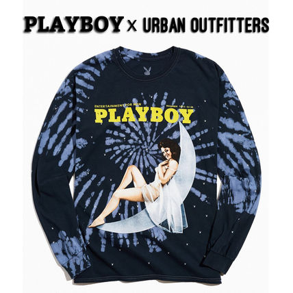 Urban Outfitters Sweatshirts Pullovers Unisex Street Style Collaboration Long Sleeves