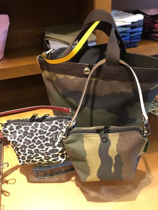 Camouflage Nylon Pouches & Cosmetic Bags