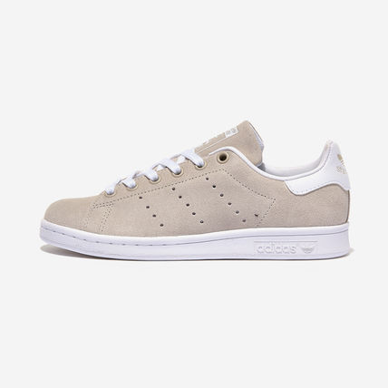 adidas STAN SMITH Casual Style Suede Street Style Low-Top Sneakers