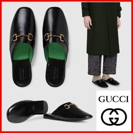 GUCCI Men's Leather Slipper