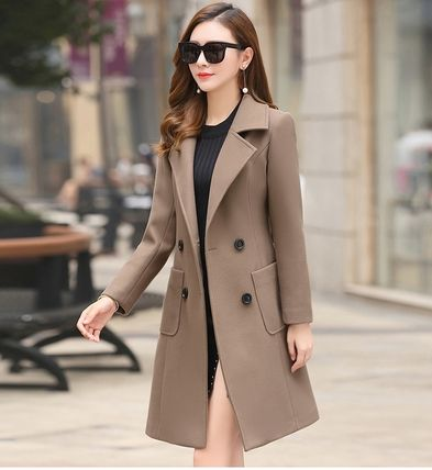 Casual Style Plain Medium Party Style Office Style