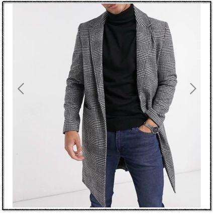 Other Plaid Patterns Long Coats