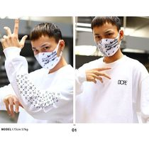 DOPE More T-Shirts Crew Neck Pullovers Paisley Unisex Street Style Long Sleeves 5