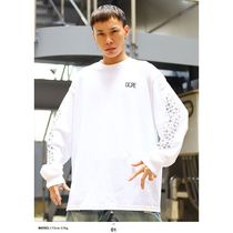DOPE More T-Shirts Crew Neck Pullovers Paisley Unisex Street Style Long Sleeves 6