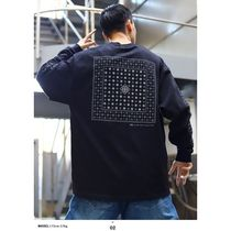 DOPE More T-Shirts Crew Neck Pullovers Paisley Unisex Street Style Long Sleeves 7