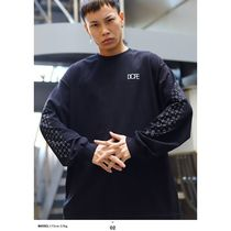 DOPE More T-Shirts Crew Neck Pullovers Paisley Unisex Street Style Long Sleeves 9