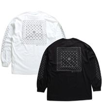 DOPE More T-Shirts Crew Neck Pullovers Paisley Unisex Street Style Long Sleeves 20