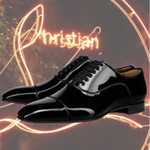 Christian Louboutin Loafers Street Style Leather Logo Loafers & Slip-ons
