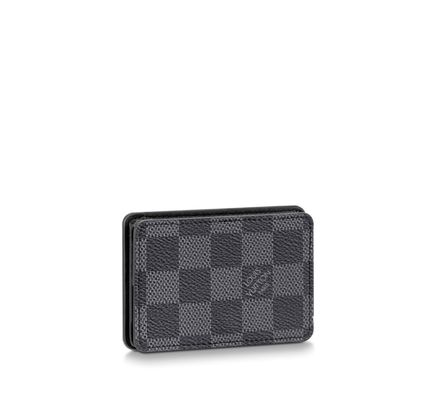 Canvas Street Style Leather Logo Coin Cases