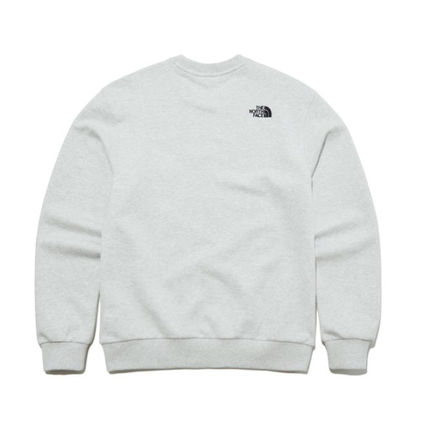 THE NORTH FACE Long Sleeve Street Style Long Sleeves Plain Cotton Long Sleeve T-shirt 3
