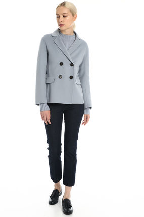 Casual Style Wool Plain Office Style Elegant Style