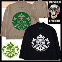 STOCKHOLM SYNDROME Unisex Street Style Sweaters