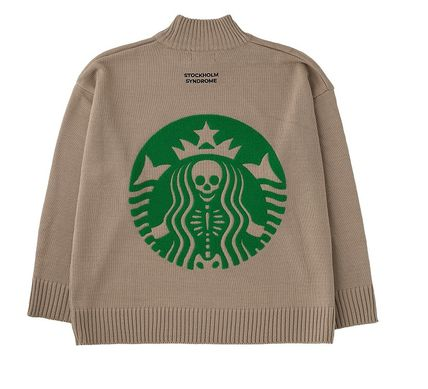 STOCKHOLM SYNDROME Sweaters Unisex Street Style Sweaters 2