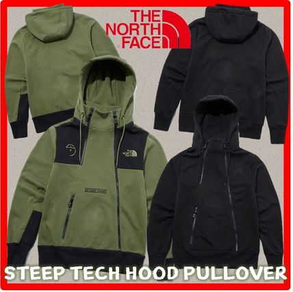 THE NORTH FACE Hoodies Unisex Street Style Long Sleeves Outdoor Hoodies