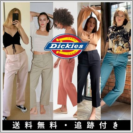 Dickies Casual Style Street Style Plain Cotton Long Office Style