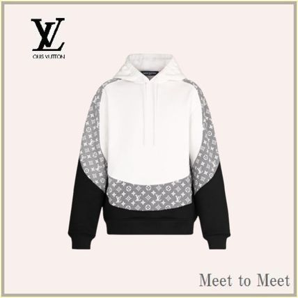 Louis Vuitton Logo Luxury Hoodies