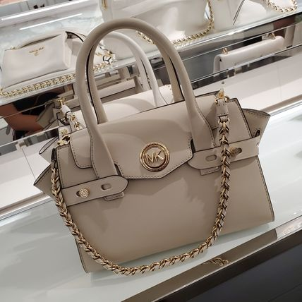 Michael Kors Casual Style Saffiano 2WAY Chain Plain Party Style