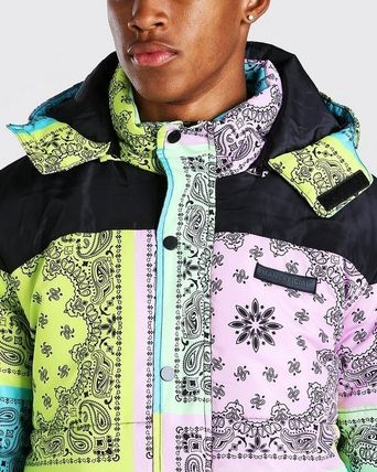 Paisley Street Style Down Jackets