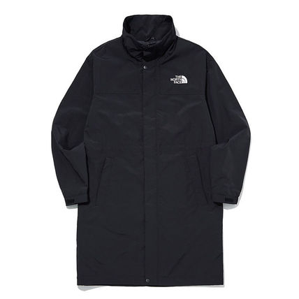 THE NORTH FACE WHITE LABEL Unisex Nylon Plain Long Logo Coats