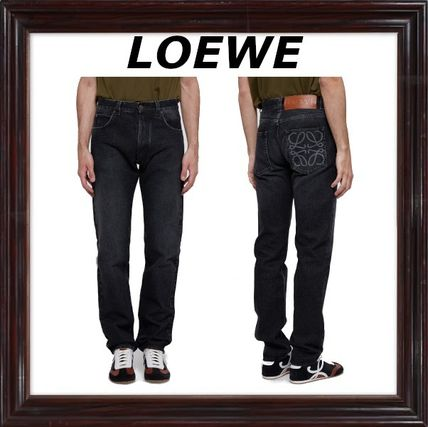 LOEWE More Jeans Cotton Logo Jeans