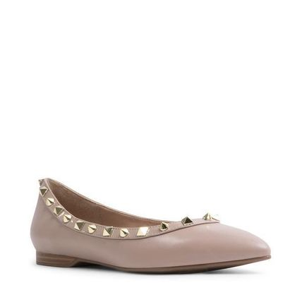 Steve Madden Casual Style Plain Elegant Style Pointed Toe Shoes