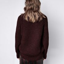 ZADIG & VOLTAIRE Casual Style Street Style Long Sleeves Elegant Style