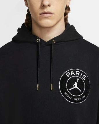 Nike Hoodies Pullovers Street Style Collaboration Long Sleeves Plain 7