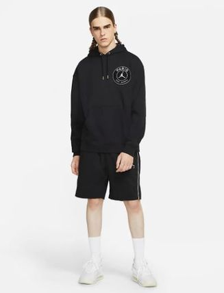 Nike Hoodies Pullovers Street Style Collaboration Long Sleeves Plain 11
