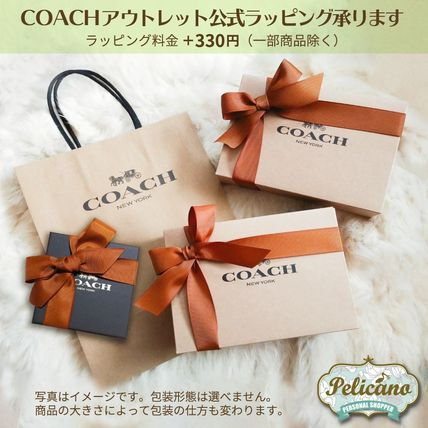 Coach Monogram Casual Style Canvas Leather Elegant Style Crossbody