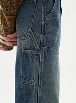 ANDERSSON BELL More Jeans Unisex Street Style Plain Logo Jeans 11