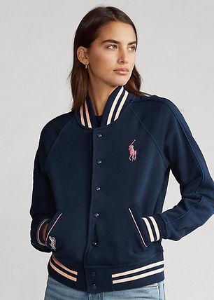 Ralph Lauren Casual Style Bi-color Medium Varsity Jackets
