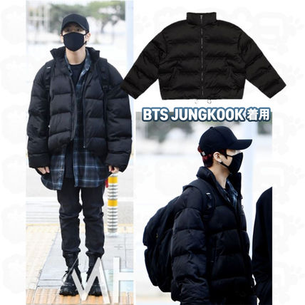 ★DPRIQUE★BTS JUNGKOOK Oversized Padded Jacket