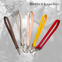 HERVE CHAPELIER Leather Logo Bags