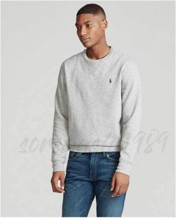 POLO RALPH LAUREN Sweatshirts Unisex Cotton Logo Surf Style Sweatshirts 2