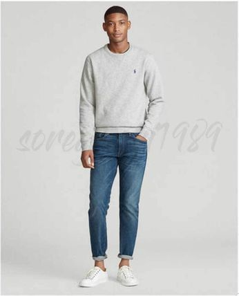 POLO RALPH LAUREN Sweatshirts Unisex Cotton Logo Surf Style Sweatshirts 4