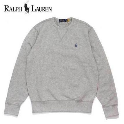 POLO RALPH LAUREN Sweatshirts Unisex Cotton Logo Surf Style Sweatshirts 5