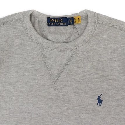 POLO RALPH LAUREN Sweatshirts Unisex Cotton Logo Surf Style Sweatshirts 7