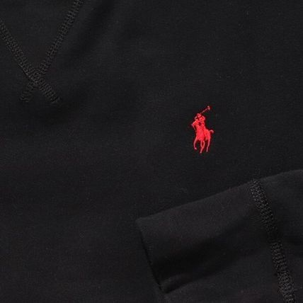 POLO RALPH LAUREN Sweatshirts Unisex Cotton Logo Surf Style Sweatshirts 12
