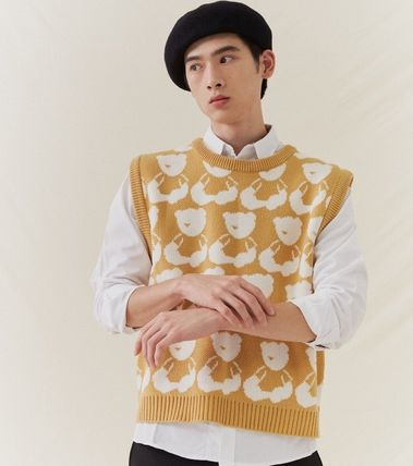 Pullovers Unisex Street Style Other Animal Patterns
