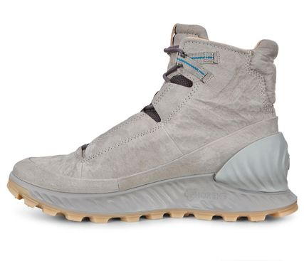 Mountain Boots Blended Fabrics Street Style Plain Leather